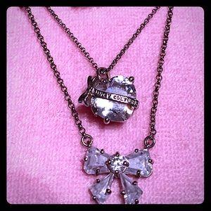 Juicy Couture necklaces 2